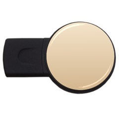 Champagne To Tan Gradient 1GB USB Flash Drive (Round)
