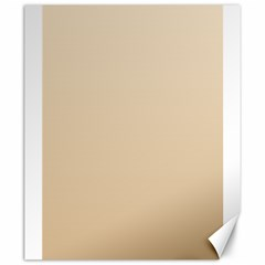 Champagne To Tan Gradient Canvas 20  x 24  (Unframed)