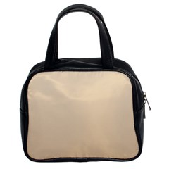 Champagne To Tan Gradient Classic Handbag (two Sides)