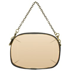 Champagne To Tan Gradient Chain Purse (One Side)