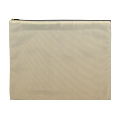 Champagne To Tan Gradient Cosmetic Bag (XL)