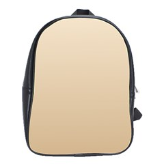 Champagne To Tan Gradient School Bag (Large)