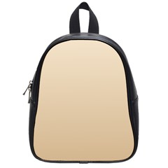 Champagne To Tan Gradient School Bag (small)