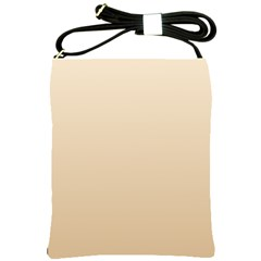 Champagne To Tan Gradient Shoulder Sling Bag