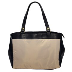 Champagne To Tan Gradient Oversize Office Handbag (One Side)