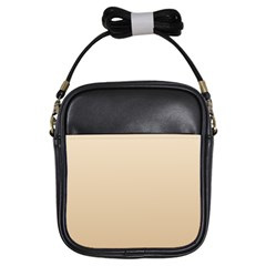 Champagne To Tan Gradient Girl s Sling Bag