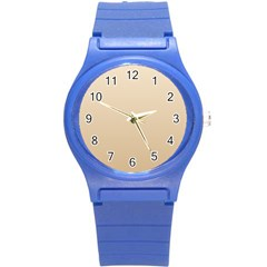 Champagne To Tan Gradient Plastic Sport Watch (small)