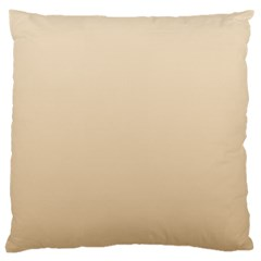Champagne To Tan Gradient Large Cushion Case (one Side)