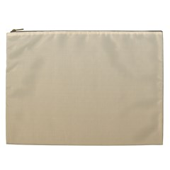 Champagne To Tan Gradient Cosmetic Bag (XXL)