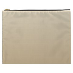 Champagne To Tan Gradient Cosmetic Bag (XXXL)