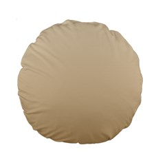 Champagne To Tan Gradient 15  Premium Round Cushion