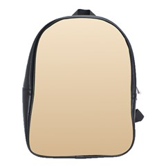 Champagne To Tan Gradient School Bag (XL)