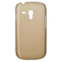 Champagne To Tan Gradient Samsung Galaxy S3 Mini I8190 Hardshell Case