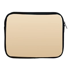 Champagne To Tan Gradient Apple iPad 2/3/4 Zipper Case