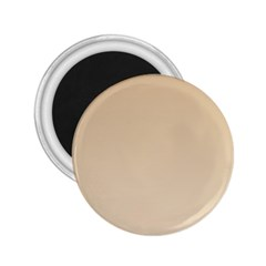Tan To Champagne Gradient 2.25  Button Magnet