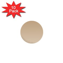 Tan To Champagne Gradient 1  Mini Button (10 pack)