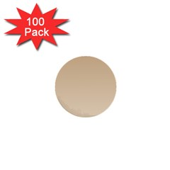 Tan To Champagne Gradient 1  Mini Button (100 pack)