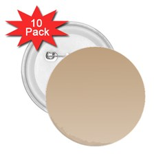 Tan To Champagne Gradient 2.25  Button (10 pack)