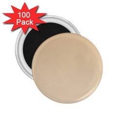 Tan To Champagne Gradient 2.25  Button Magnet (100 pack)