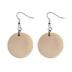 Tan To Champagne Gradient Mini Button Earrings