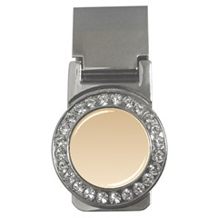 Tan To Champagne Gradient Money Clip (CZ)
