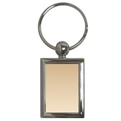 Tan To Champagne Gradient Key Chain (Rectangle)