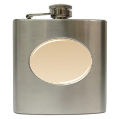 Tan To Champagne Gradient Hip Flask