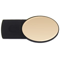 Tan To Champagne Gradient 1GB USB Flash Drive (Oval)