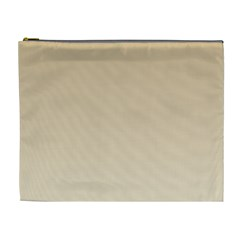 Tan To Champagne Gradient Cosmetic Bag (XL)