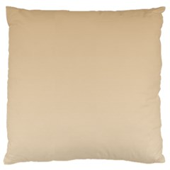 Tan To Champagne Gradient Large Cushion Case (two Sides)