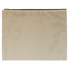 Tan To Champagne Gradient Cosmetic Bag (xxxl)
