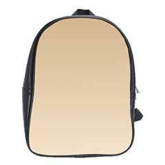 Tan To Champagne Gradient School Bag (xl)