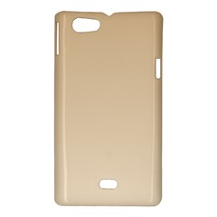 Tan To Champagne Gradient Sony Xperia Miro Hardshell Case
