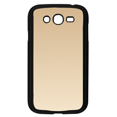 Tan To Champagne Gradient Samsung I9082(galaxy Grand Duos)(black)