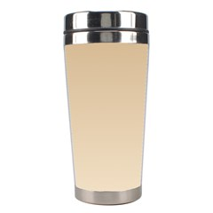Tan To Champagne Gradient Stainless Steel Travel Tumbler