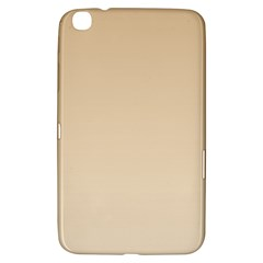 Tan To Champagne Gradient Samsung Galaxy Tab 3 (8 ) T3100 Hardshell Case