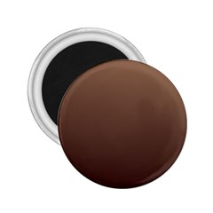 Chamoisee To Seal Brown Gradient 2.25  Button Magnet