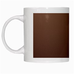 Chamoisee To Seal Brown Gradient White Coffee Mug