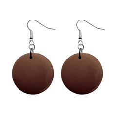 Chamoisee To Seal Brown Gradient Mini Button Earrings