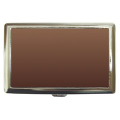 Chamoisee To Seal Brown Gradient Cigarette Money Case