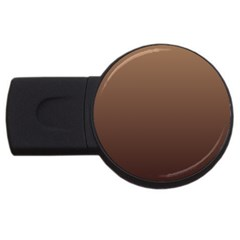 Chamoisee To Seal Brown Gradient 1GB USB Flash Drive (Round)