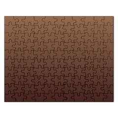 Chamoisee To Seal Brown Gradient Jigsaw Puzzle (Rectangle)