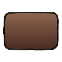 Chamoisee To Seal Brown Gradient Netbook Case (Medium)