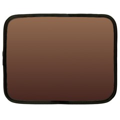Chamoisee To Seal Brown Gradient Netbook Case (large)