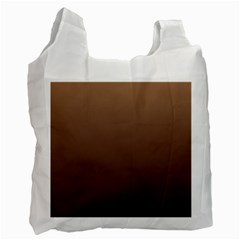Chamoisee To Seal Brown Gradient Recycle Bag (two Sides)