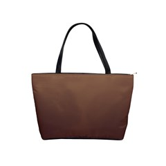 Chamoisee To Seal Brown Gradient Large Shoulder Bag