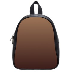 Chamoisee To Seal Brown Gradient School Bag (small)