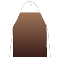 Chamoisee To Seal Brown Gradient Apron