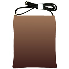 Chamoisee To Seal Brown Gradient Shoulder Sling Bag