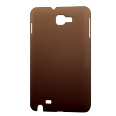Chamoisee To Seal Brown Gradient Samsung Galaxy Note 1 Hardshell Case
